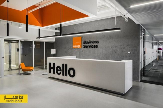 طراحی مدرن دفتر اداری | طراحی دکوراسیون اداری,دکوراسیون داخلی اداری,نورپردازی اداری