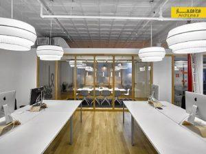 طراحی داخلی مدرن دفتر کار مرکزی شرکت Karma، نیویورک