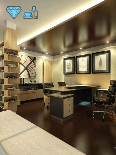 طراحی دکوراسیون اتاق رئیس طراحی دکوراسیون اداری,دکوراسیون داخلی اداری,مبلمان اداری,دکور