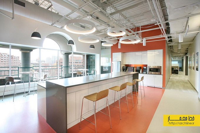 طراحی دفتر کار شرکت Blackbaud   طراحی دکوراسیون اداری,دکوراسیون داخلی اداری,دکور