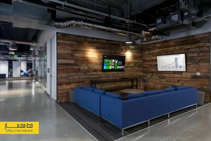 طراحی داخلی دفتر شرکت | طراحی دکوراسیون اداری,دکوراسیون داخلی اداری,نورپردازی اداری