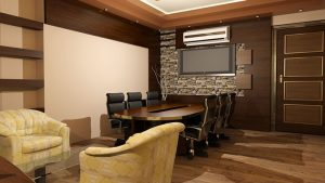 طراحی داخلی دفتر تجاری