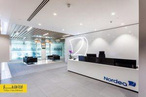 طراحی داخلی دفتر کار به سبک مدرن، لندن