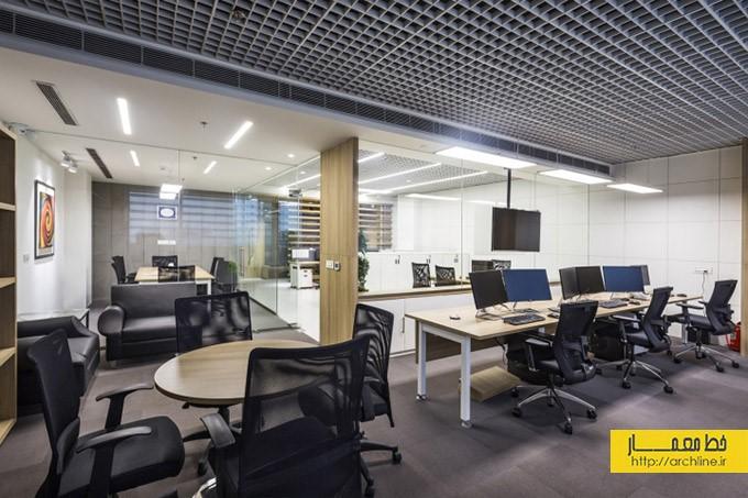 طراحی و چیدمان اتاق کار | طراحی دکوراسیون اداری,دکوراسیون داخلی اداری,نورپردازی اداری