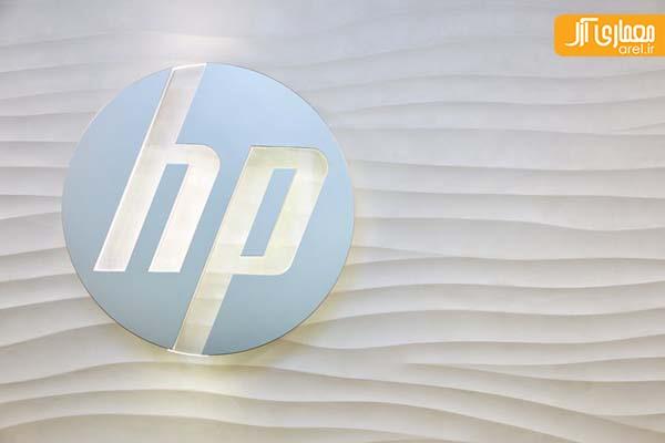 طراحی داخلی دفتر نمایندگی HP | طراحی دکوراسیون اداری,دکوراسیون داخلی اداری,نورپردازی