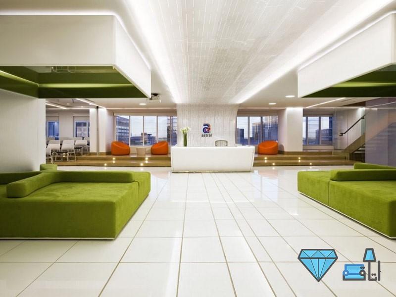 طرح هایی برای دکوراسیون دفاتر اداری | طراحی دکوراسیون اداری,دکوراسیون داخلی اداری