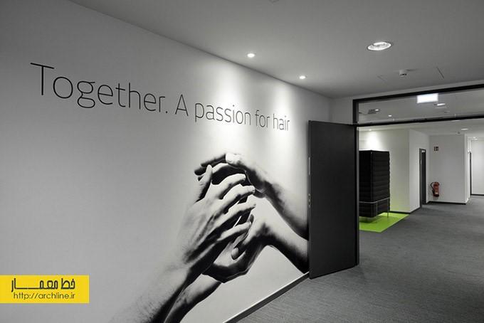 طراحی سفید خاکستری دفتر اداری | طراحی دکوراسیون اداری,دکوراسیون داخلی اداری,نورپردازی