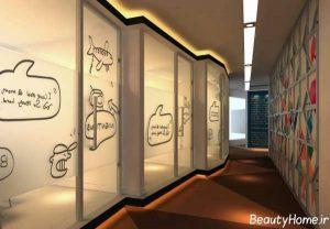 دکوراسیون اداری مدرن و جدید با طراحی های جذاب