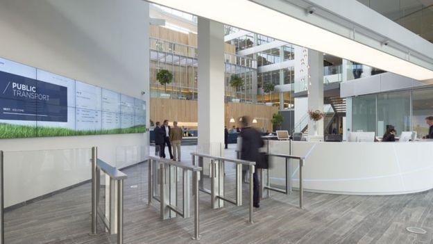 سبزترین ساختمان اداری جهان | طراحی دکوراسیون اداری,دکوراسیون داخلی اداری,نورپردازی اداری