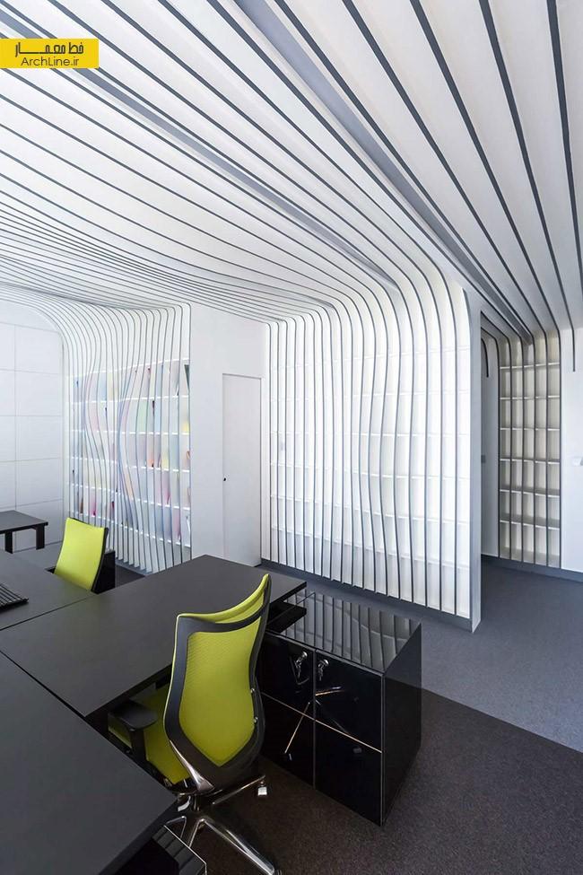 طراحی داخلی دفتر کار مجله دیار | طراحی دکوراسیون اداری,دکوراسیون داخلی اداری,نورپردازی