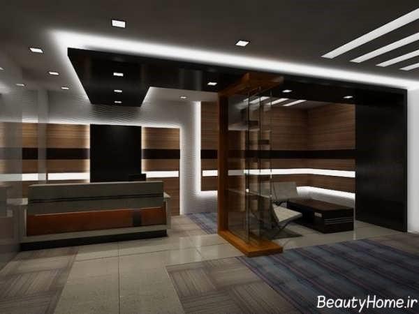 ایده طراحی دکوراسیون دفتر کار | طراحی دکوراسیون اداری,دکوراسیون داخلی اداری,دکور اداری