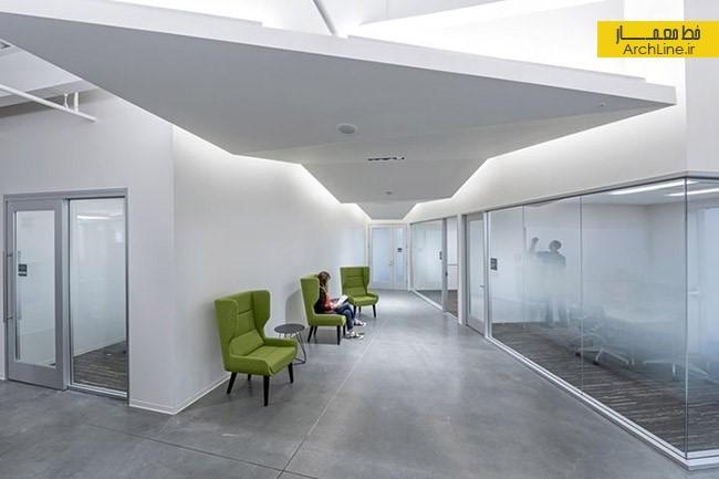 طراحی داخلی دفتر کار شرکت | طراحی دکوراسیون اداری,دکوراسیون داخلی اداری,نورپردازی اداری