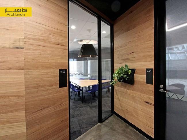 طراحی دفتر کار مدرن | طراحی دکوراسیون اداری,دکوراسیون داخلی اداری,نورپردازی اداری