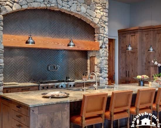 نکاتي براي طراحي مدل جزيره آشپزخانه | طراحی دکوراسیون منزل,دکوراسیون داخلی منزل,دکور
