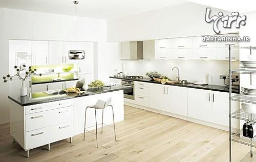 نورپردازی اصولی آشپزخانه | طراحی دکوراسیون منزل,دکوراسیون داخلی آشپزخانه,دکوراسیون