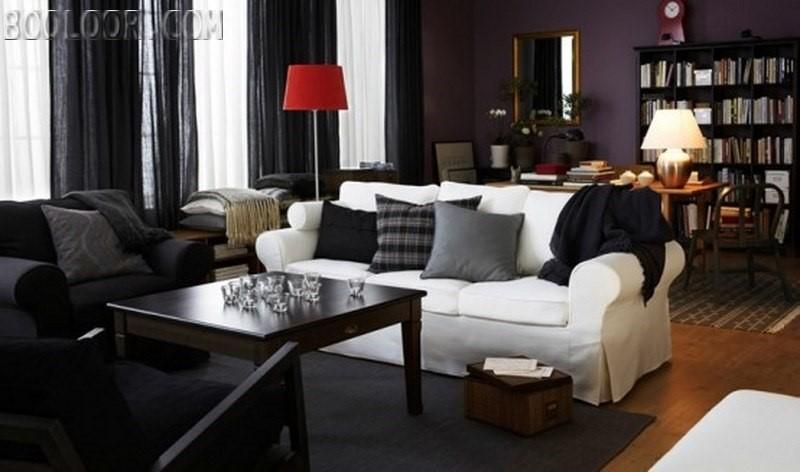 طراحی داخلی اتاق پذیرایی زیبا | طراحی دکوراسیون منزل,دکوراسیون داخلی منزل,دکور منزل