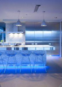 نور پردازی درست در آشپزخانه
