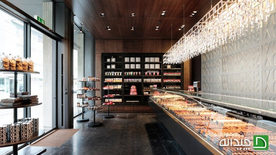 ایده هایی برای طراحی دکوراسیون داخلی مغازه قنادی