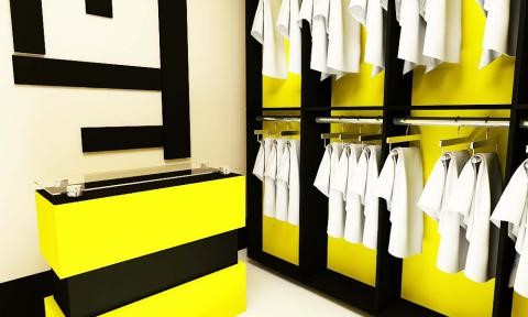 طراحی دکوراسیون فروشگاه پوشاک  طراحی دکوراسیون مغازه,دکوراسیون داخلی مغازه,دکور ویترین