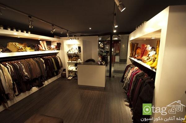 دکوراسیون مغازه پوشاک   طراحی دکوراسیون مغازه,دکوراسیون داخلی مغازه,دکور مغازه,نورپردازی