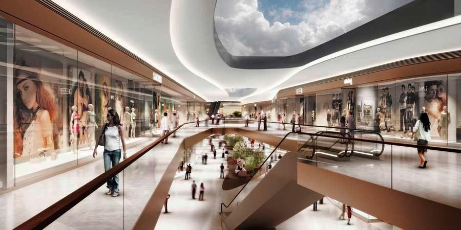 نورپردازی مراکز تجاری | طراحی دکوراسیون مغازه,دکوراسیون داخلی مغازه,ویترین مغازه,دکور