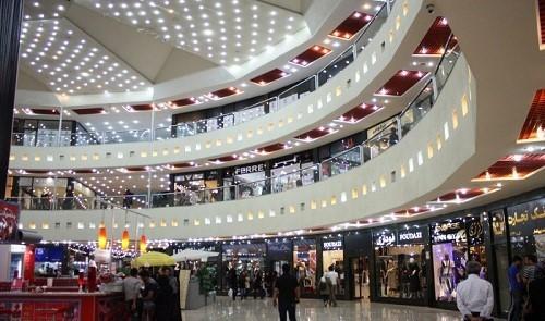 نورپردازی مراکز تجاری