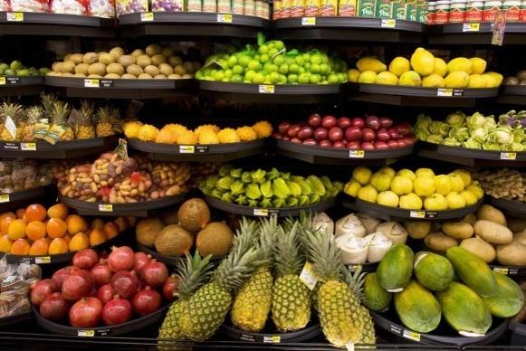 نورپردازی در فروشگاه مواد غذایی | طراحی دکوراسیون مغازه,دکوراسیون داخلی مغازه,ویترین مغازه