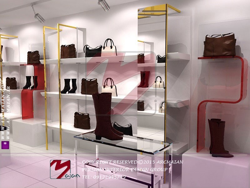 طراحی داخلی متفاوت مغازه | طراحی دکوراسیون مغازه,دکوراسیون داخلی مغازه,ویترین مغازه,دکور