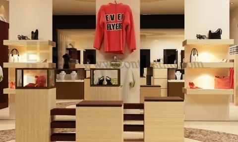 دکور فروشگاه پوشاک زنانه | طراحی دکوراسیون مغازه,دکوراسیون داخلی مغازه,ویترین مغازه,دکور