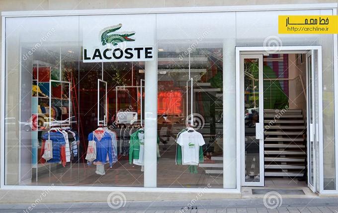 ویترین مغازه ها و دکوراسیون برندهای معروف
