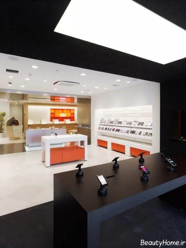 با چند طراحی زیبا برای دکوراسیون فروشگاه موبایل آشنا شوید