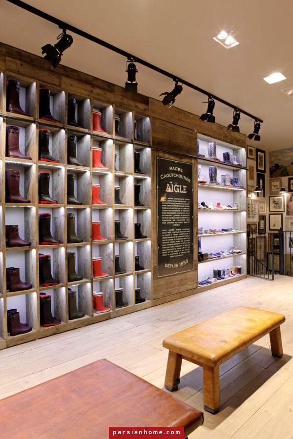 طراحی داخلی مغازه های شیک لباس فروشی