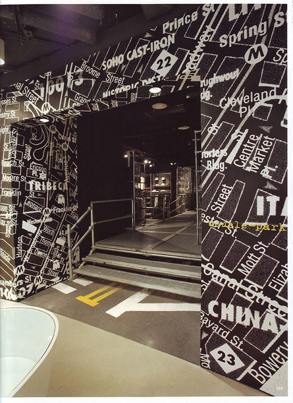 نمونه طراحی دکوراسیون مغازه I.T نیویورک | طراحی دکوراسیون مغازه,دکوراسیون داخلی مغازه