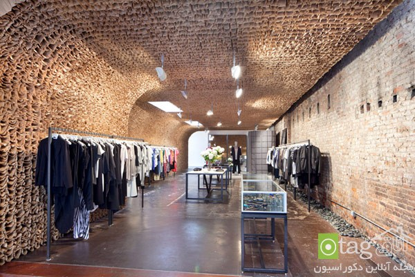 طراحی داخلی بوتیک لباس شیک | طراحی دکوراسیون مغازه,دکوراسیون داخلی مغازه,ویترین مغازه