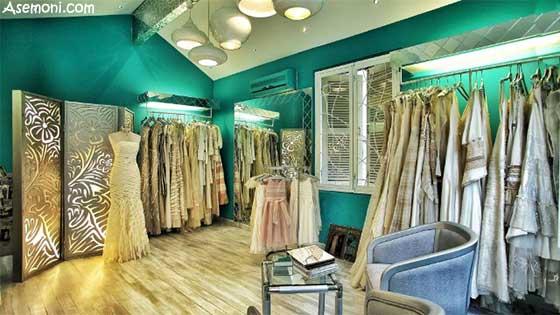 طراحی داخلی  بوتیک لباس شیک