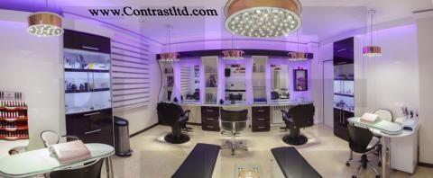 دکوراسیون آرایشگاه زنانه |  طراحی دکوراسیون مغازه,دکوراسیون داخلی مغازه,دکوراسیون مغازه