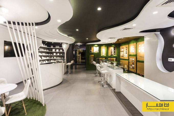 نکاتی در مورد نورپردازی فروشگاهی و ویترین
