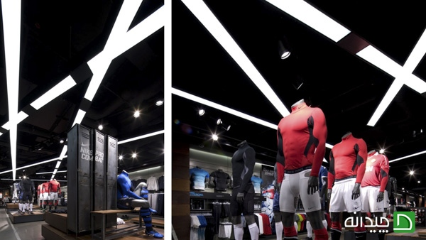 نورپردازی داخل فروشگاه | طراحی دکوراسیون مغازه,دکوراسیون داخلی مغازه,ویترین مغازه,دکور