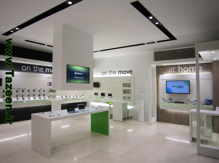 طراحی داخلی مغازه | طراحی دکوراسیون مغازه,دکوراسیون داخلی مغازه,ویترین مغازه,نورپردازی