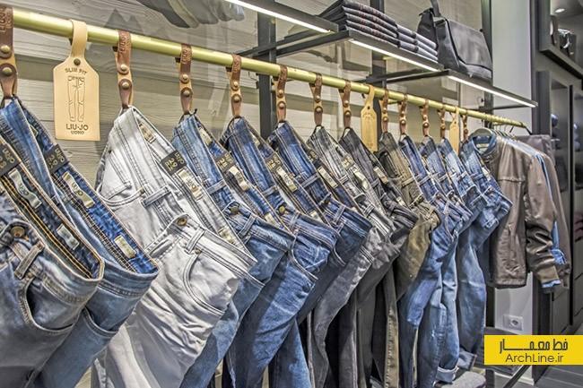 طراحی و دکوراسیون فروشگاه پوشاک   طراحی دکوراسیون مغازه,دکوراسیون داخلی مغازه,ویترین