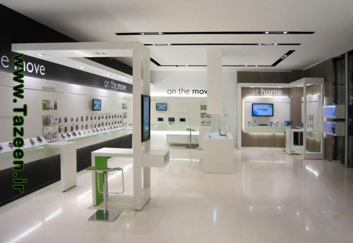 فروشگاه موبایل Cosmote، آتن- یونان