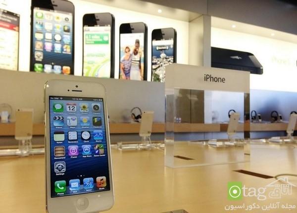 دکوراسیون مغازه موبایل فروشی شیک | طراحی دکوراسیون مغازه,دکوراسیون داخلی مغازه,ویترین