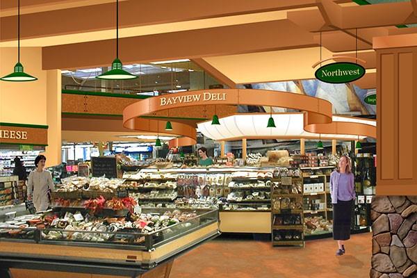 طراحی دکوراسیون سوپر مارکت | طراحی دکوراسیون مغازه,دکوراسیون داخلی مغازه,ویترین مغازه