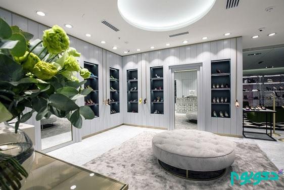 طراحی داخلی لوکس فروشگاه   طراحی دکوراسیون مغازه,دکوراسیون داخلی مغازه,نورپردازی مغازه