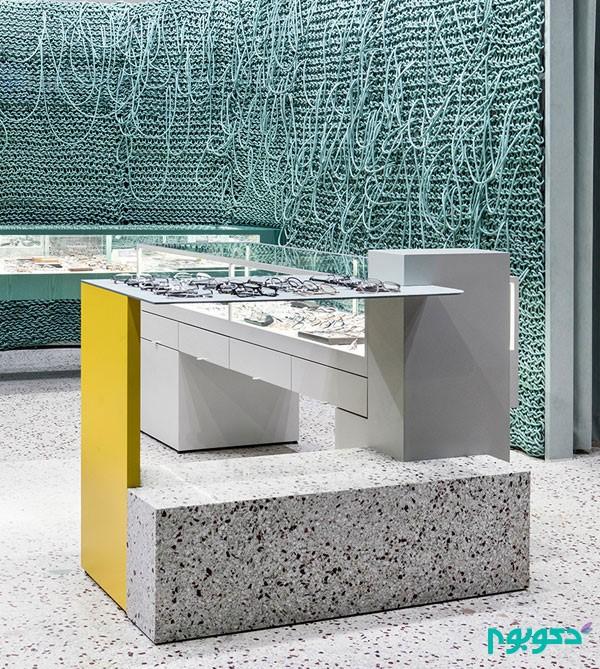 ایده طراحی داخلی فروشگاه عینک | طراحی دکوراسیون مغازه,دکوراسیون داخلی مغازه,نورپردازی