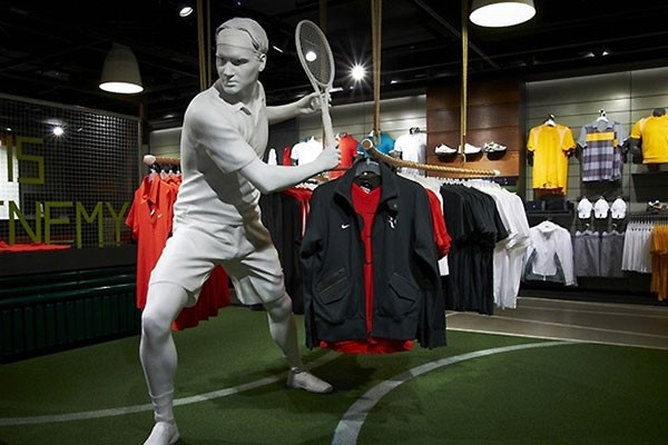 دکوراسیون مغازه لوازم ورزشی   طراحی دکوراسیون مغازه,دکوراسیون داخلی مغازه,ویترین مغازه