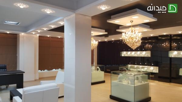 نورپردازی دکوراسیون مغازه | طراحی دکوراسیون مغازه,دکوراسیون داخلی مغازه,ویترین مغازه