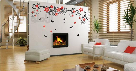 طراحی کاغذ دیواری منزل | اجرای کاغذ دیواری | انواع کاغذ دیواری | قشنگ ترین کاغذ دیواری