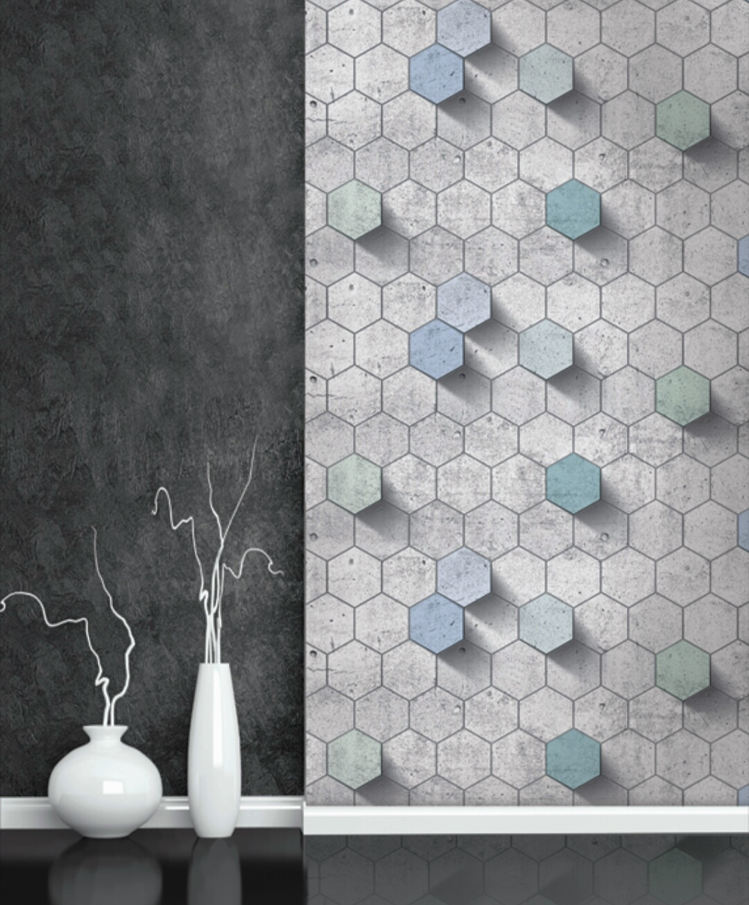 کاغذ دیواری سه بعدی | طراحی سه بعدی کاغذ دیواری,کاغذ دیواری متنوع,انواع کاغذ دیواری 3بعدی