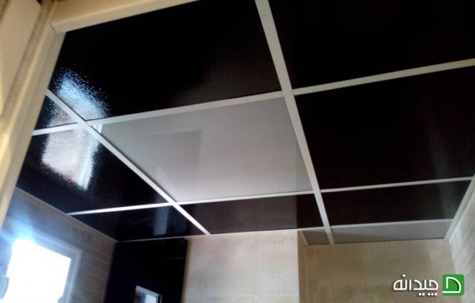 انواع سقف کاذب سرویس بهداشتی | سقف کاذب | دیوار پوش | کف پوش | پارکت | کاغذ دیواری